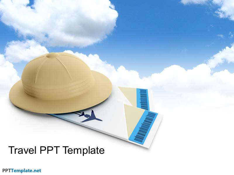 free travel ppt template