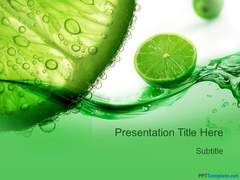 Free Lemon PPT Template