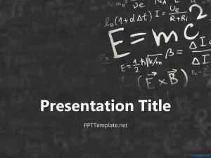 Einstein Physics PPT Template