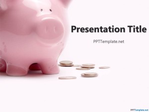 Free piggy bank ppt template for Piggy bank templates