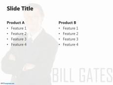 Free Bill Gates PowerPoint Templates