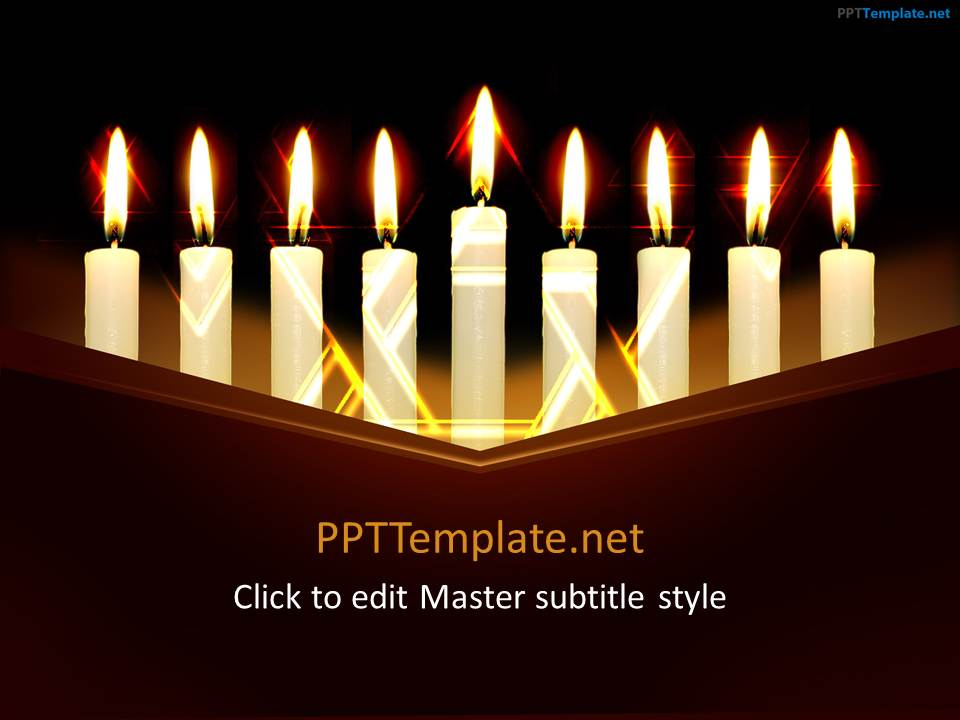 Free Chanukah PPT Template