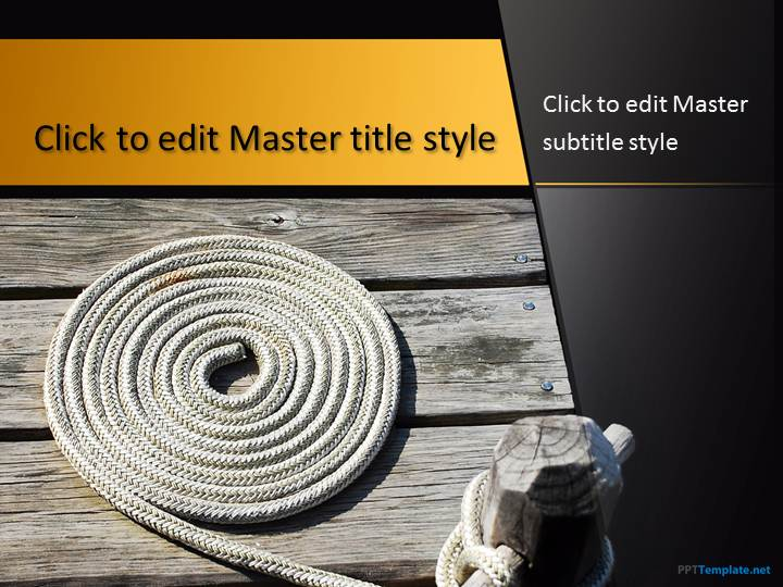Free Rope PPT Template