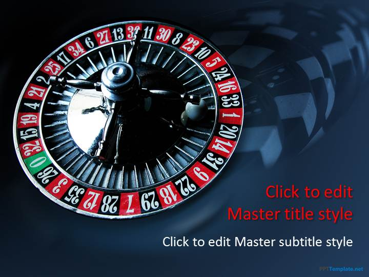 Free Roulette PPT Template