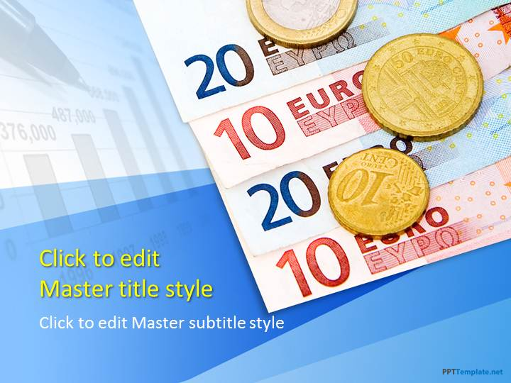 Free Euro Currency PPT Template