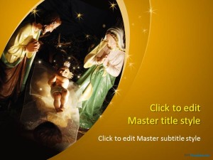 Free Nativity PPT Template