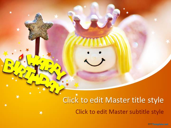 Free Happy Birthday PPT Template