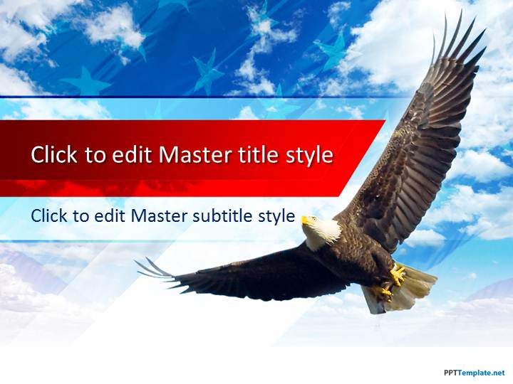 Free American Eagle PPT Template
