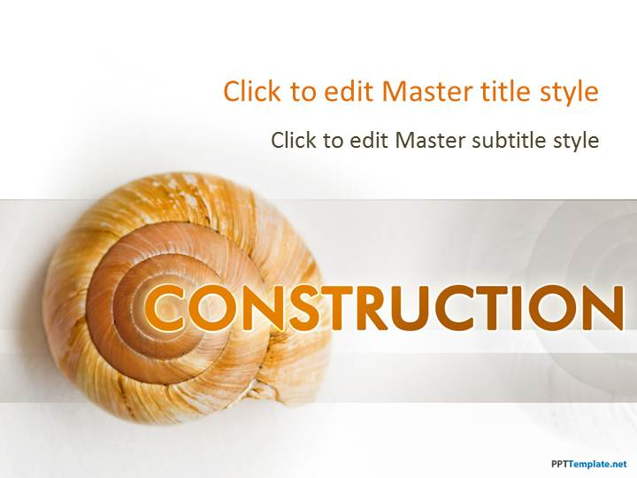 Free Construction PPT Template