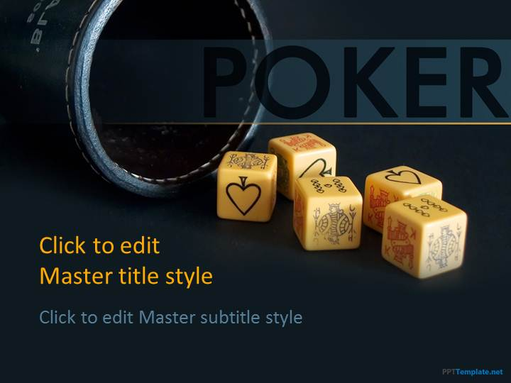 Free Poker PPT Template