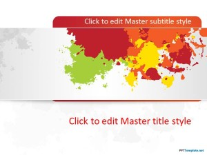 Free Color Banner PPT Template