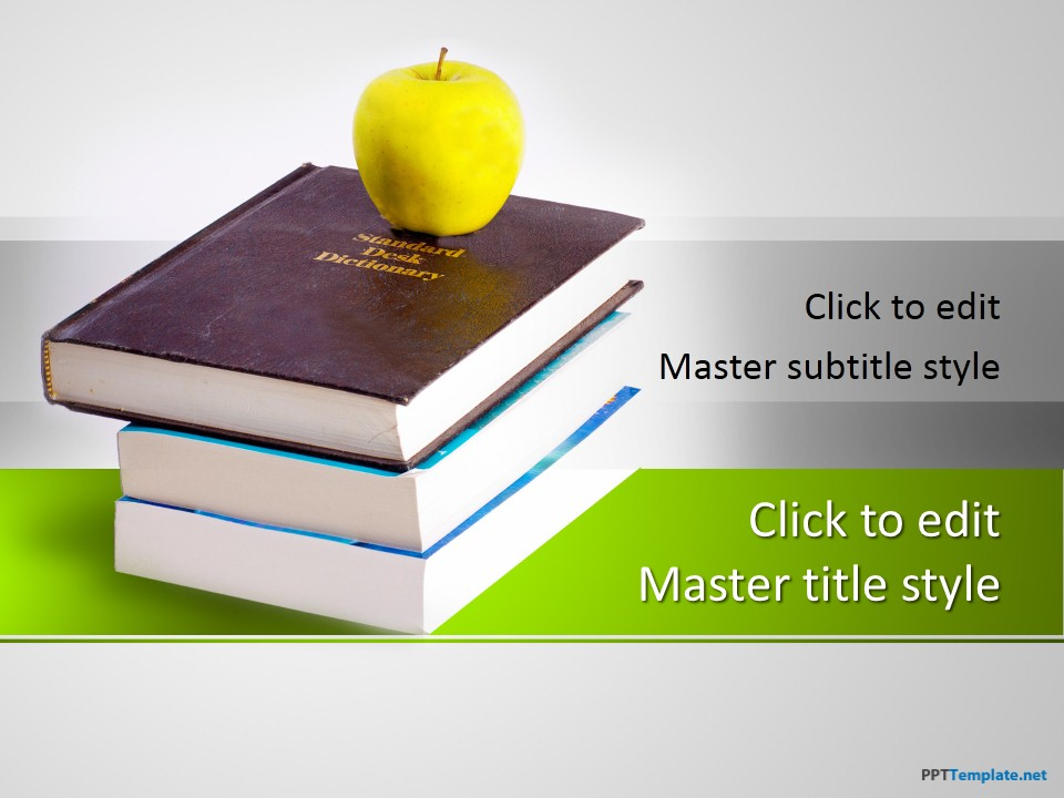Free Literature Books PPT Template