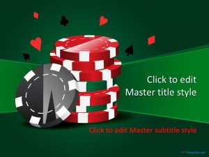 Free Casino Chips PPT Template