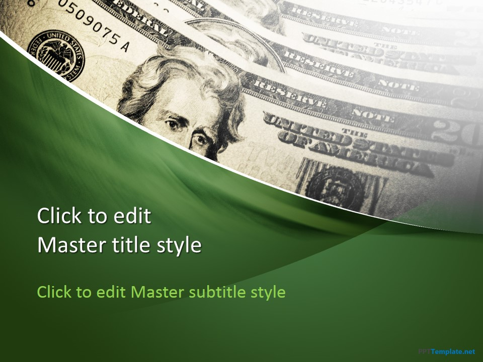 Free Dollars PPT Template