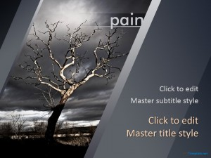 Free Pain PPT Template