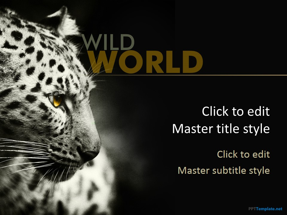 free animal ppt templates - photo #3