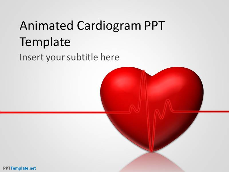 Free animated medical ppt template free animated cardiogram ppt template toneelgroepblik Images