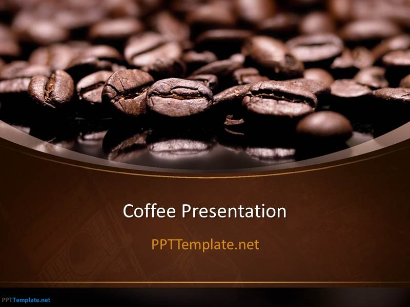 free coffee ppt template for powerpoint. Black Bedroom Furniture Sets. Home Design Ideas