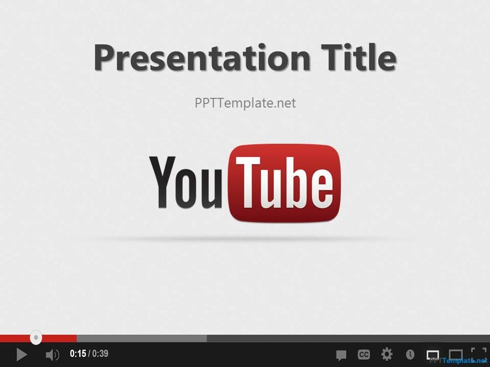 Free youtube ppt template toneelgroepblik Images