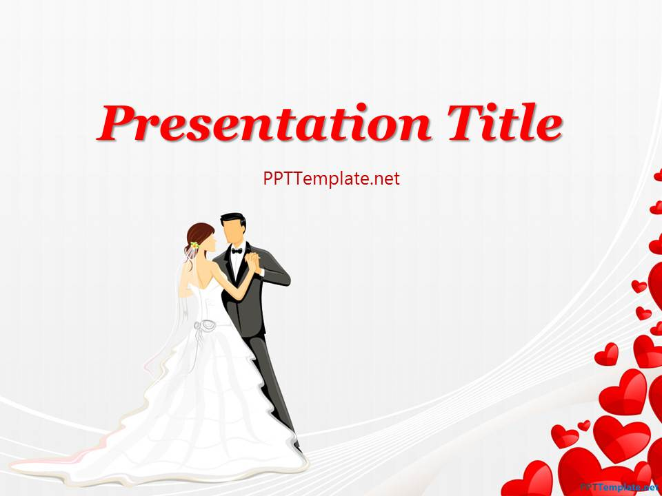 free wedding powerpoint template 623