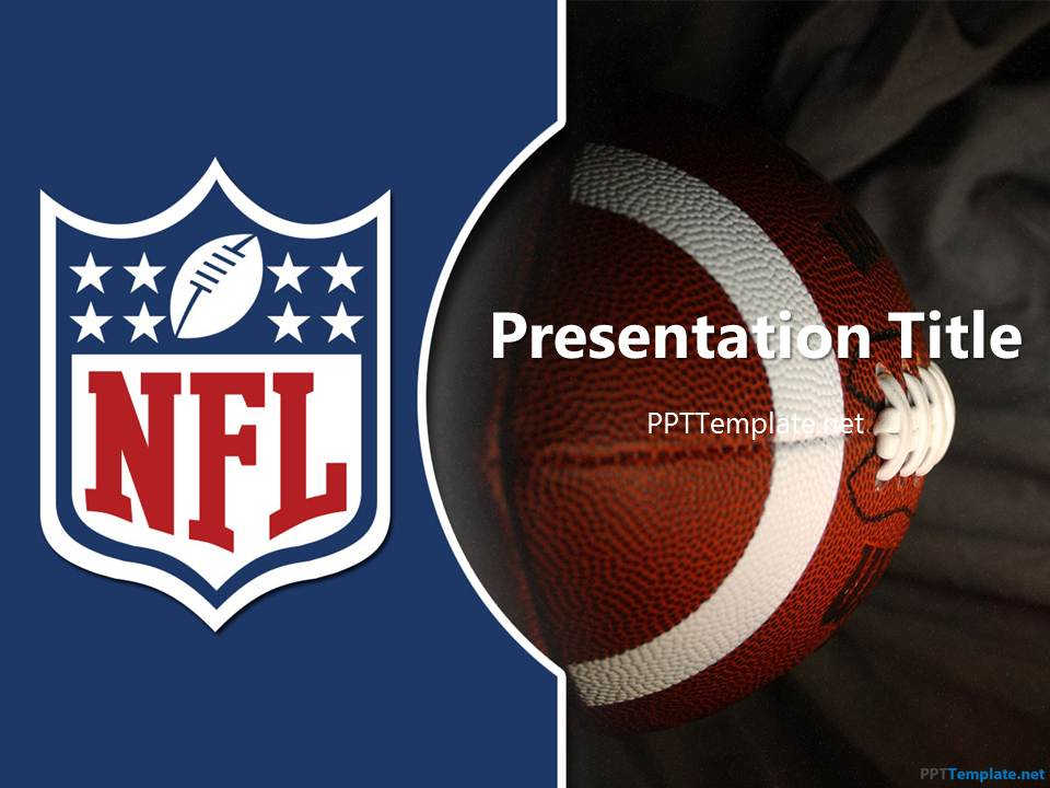 Free NFL PPT Template – Football Powerpoint Template