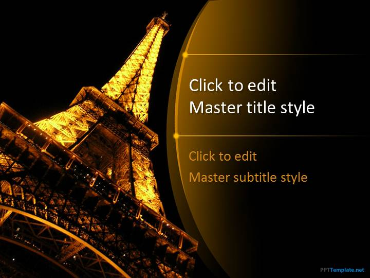 paris powerpoint template for mac images - powerpoint template and, Modern powerpoint