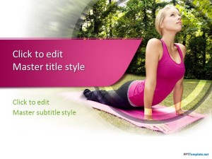 Fitness ppt template free fitness ppt template toneelgroepblik Images