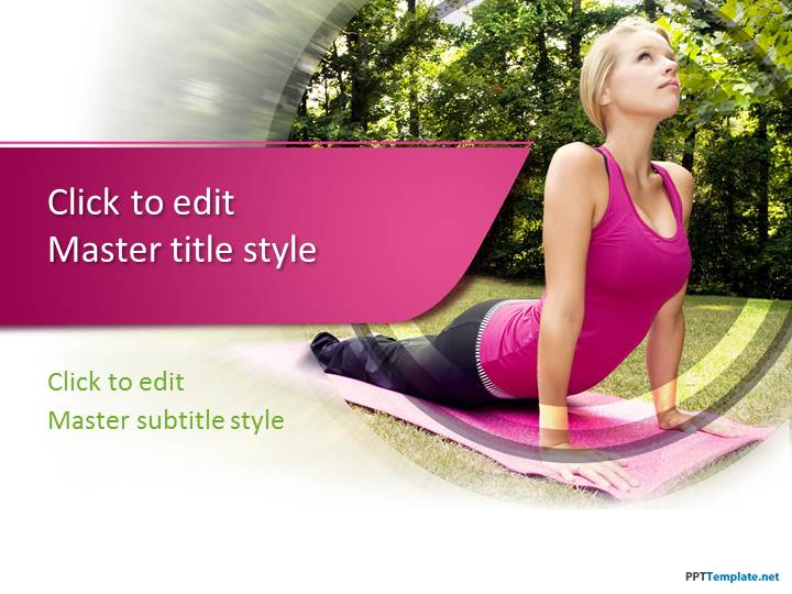 Free Fitness PPT Templates PPT Template – Fitness Templates Free