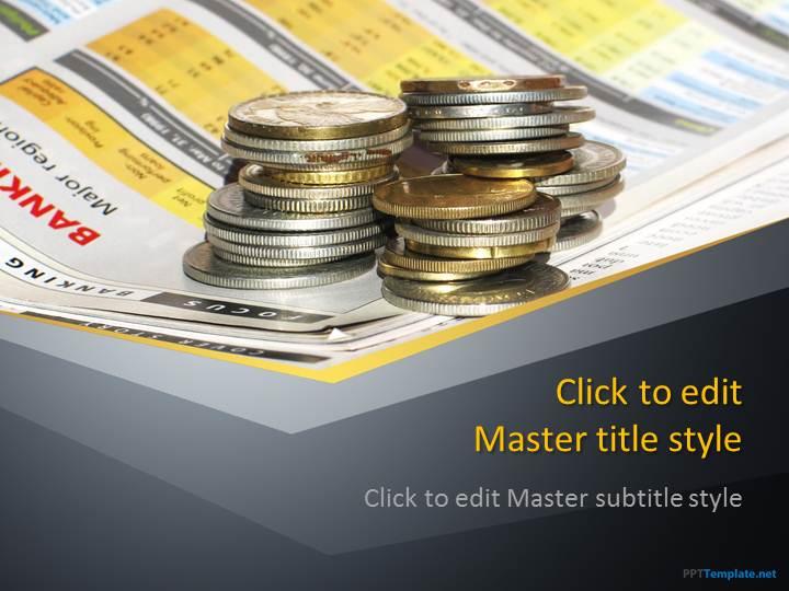 Free finance money ppt template toneelgroepblik Choice Image
