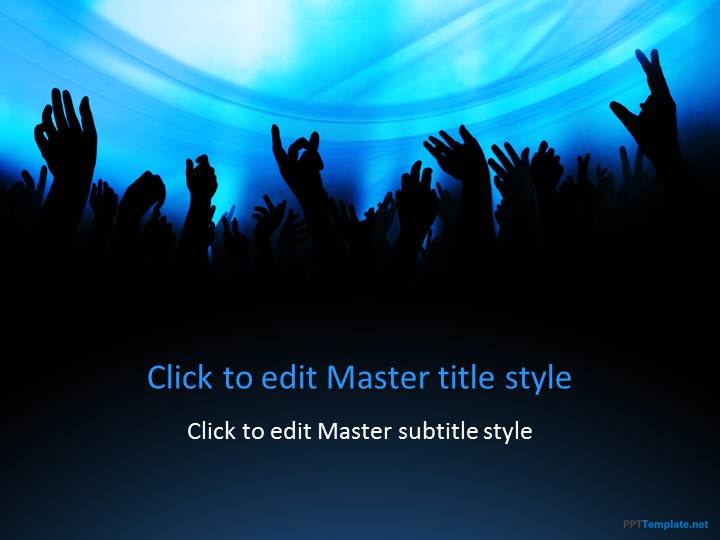 free fun party ppt template