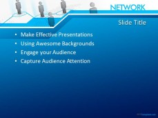 Free network ppt template 10290 network ppt template 0001 2 toneelgroepblik Image collections
