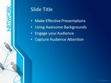 Free network ppt template 10290 network ppt template 0001 3 toneelgroepblik Image collections
