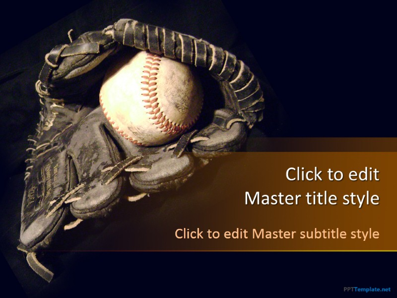 free baseball grand slam ppt template