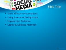 social media ppt templates