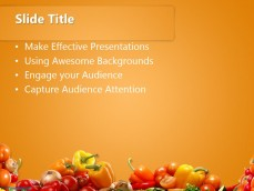 Free various vegetables ppt template 20381 various vegetables 01 ppt template 2 toneelgroepblik Choice Image
