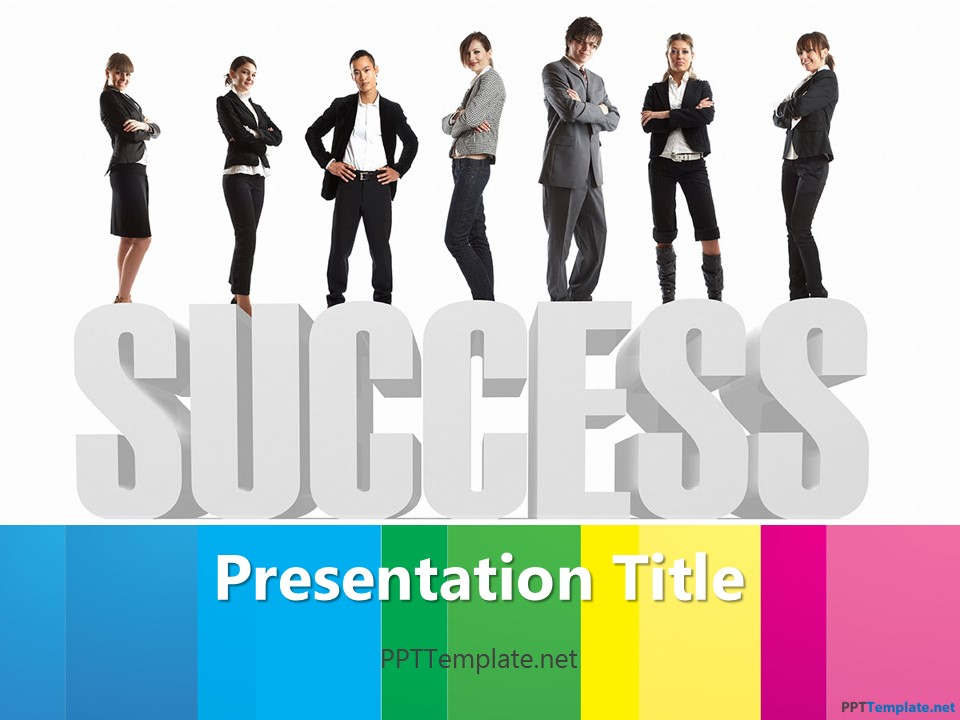 Free corporate success ppt template toneelgroepblik Choice Image