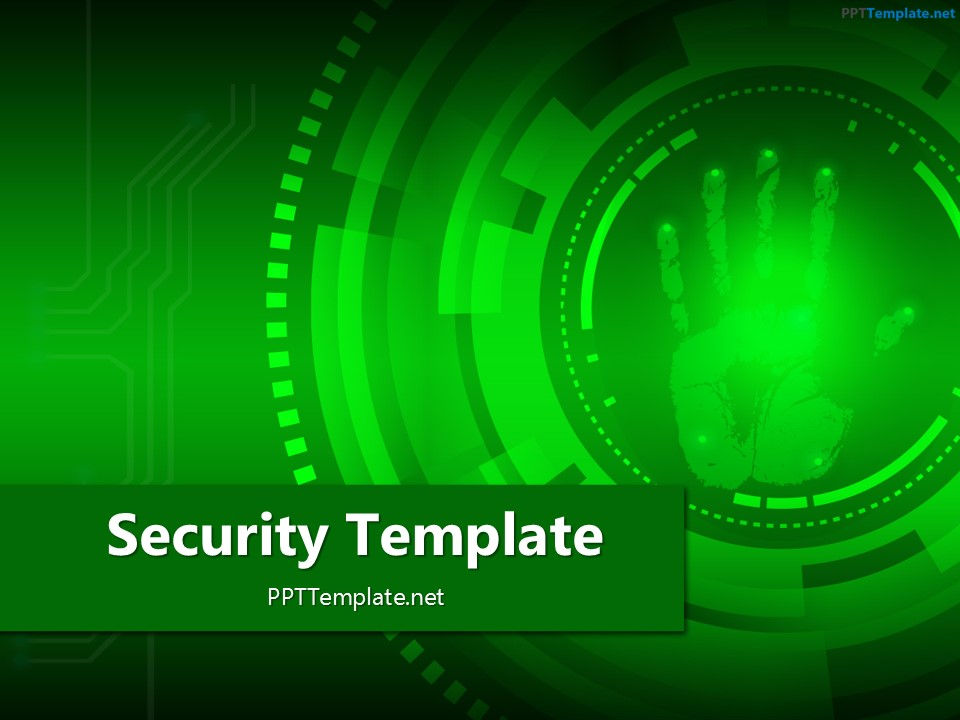 Free finger print circle 1 ppt template free palm print 2 ppt template toneelgroepblik Image collections